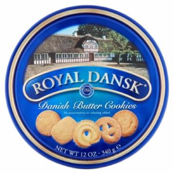Royal Dansk Danish Butter Cookies, 12 oz