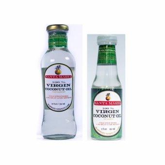 Santa Maria Raw Virgin Coconut Oil 350ml and 150ml