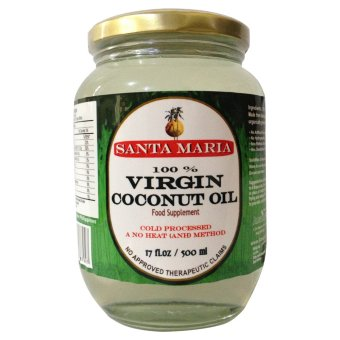 Santa Maria Raw Virgin Coconut Oil 500ml