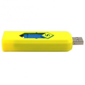 SML-606 Smart Electronic Lighter (Yellow,Blue,White,Yellow-Green,Light-Pink) Set of 5 - picture 2