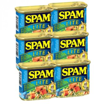 Spam Lite Luncheon Loaf 340g Set of 6