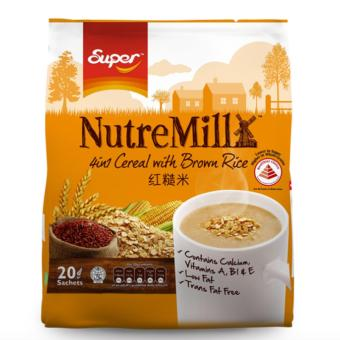 Super Nutre Mill 4 in 1 Cereal with Brown Rice 30g x 20 Sachets
