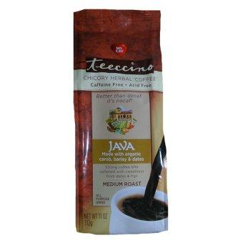 Teeccino Herbal Coffee Alternative, Java Chicory, caffeine free