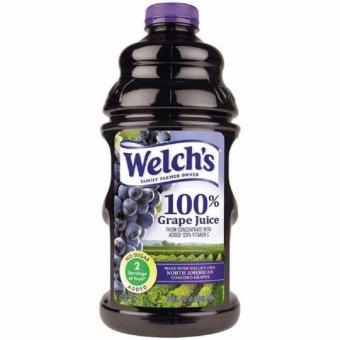 Welch's Fiber 100% Purple Grape Juice 1.89 Liters
