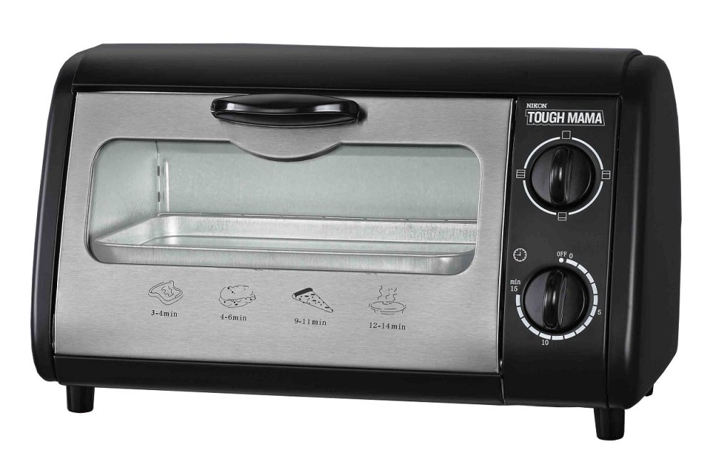 Countertop Oven Philippines : Tough Mama NTMOT-8SS 8L Oven Toaster (Black) Lazada PH