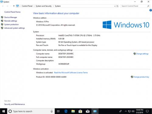 Windows 10 Pro X64 installer with Office 2019 Pro integrated with embedded  key permanent lifetime activated  Can be updated  No activation needed