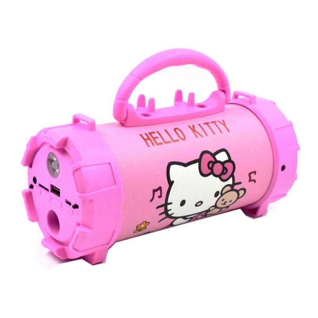 HelloKitty Speaker Super Bass Bluetooth Speaker w/ Flashlight