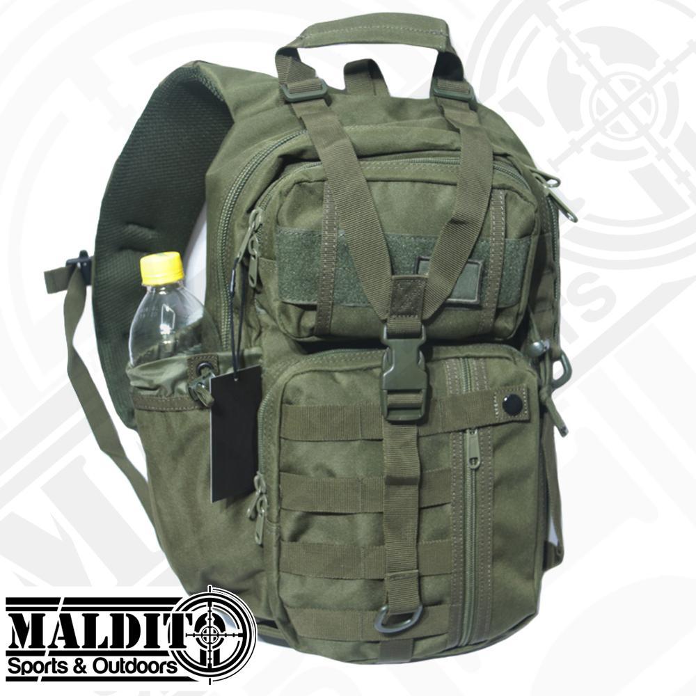 13ec1ca1fcee MS152 Model SK05 Tactical Sling Crossbody Bag 600d Oxford Fabric