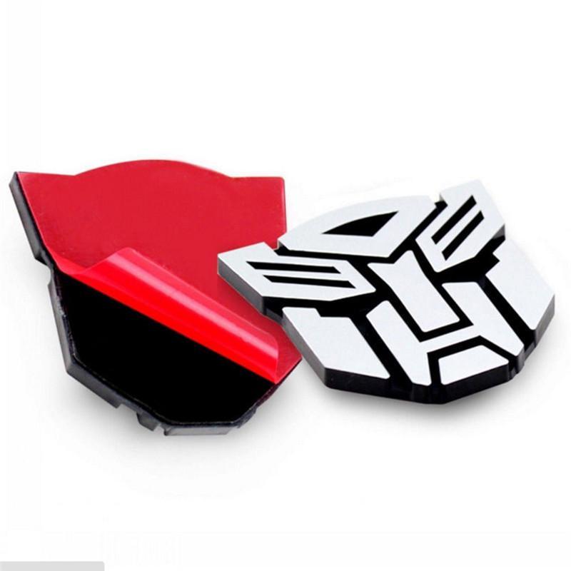 3D Logo Protector Autobot Transformers Emblem Badge Graphics Decal Car Sticker