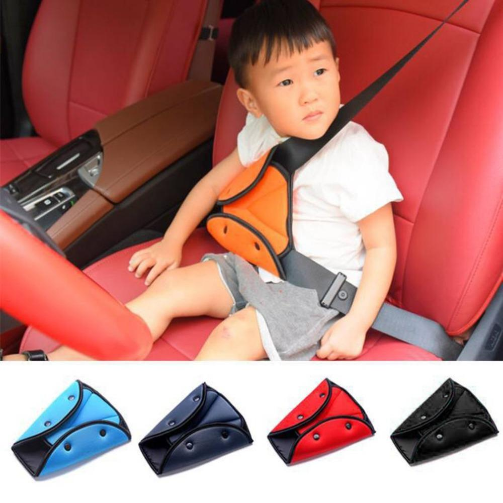 Awesome Car Safety Belt Cover Pad Sturdy Adjustable Triangle Safety Seat Belt Clips Baby Child Protection Car Styling Car Goods Creativecarmelina Interior Chair Design Creativecarmelinacom