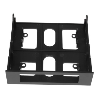 0 shipping fee 3.5'' to 5.25'' Drive Bay Computer Case Adapter Mounting Bracket USB Hub Floppy - intl - 3