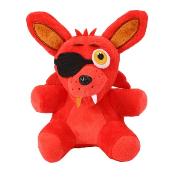 "0 shipping fee New FNAF Five Nights at Freddy's Fan Made Foxy Plushie 10"" Plush Toy - intl"