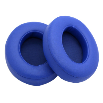 1 Pair of Replacement Memory Foam Ear Pads Cap Cushion for Beats By Dr.Dre Studio 2.0 Wireless Headphones Blue
