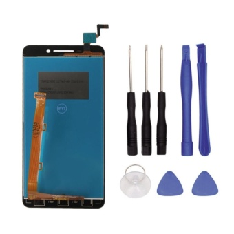 100% good quality For Lenovo A5000 LCD Display+Touch Screen Paneldigitizer replacement Parts + 3m Tape+Opening Repair Tools+glue -intl - 2