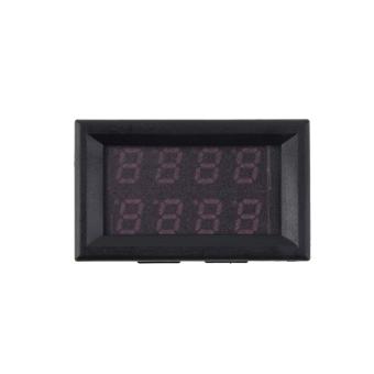 100v 50a Dc Digital Voltmeter Led Amp Volt Meter -10 To 65° C