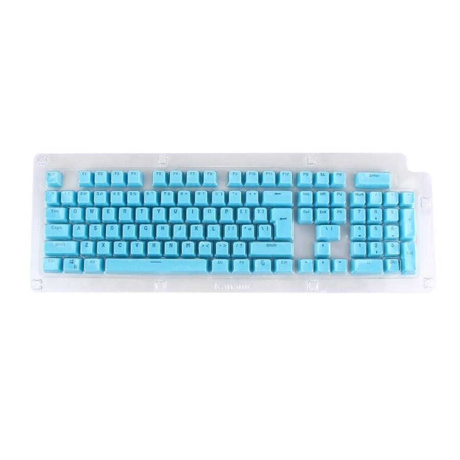 ... 104 Keys Double Shot PBT Backlit Keycaps For MechanicalKeyboard(Blue) - intl ...