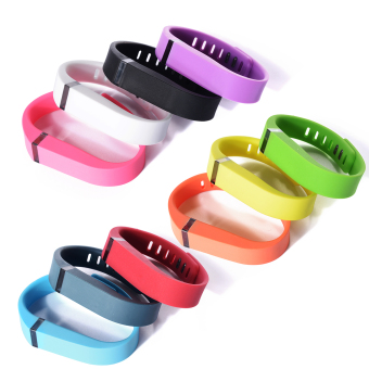 10pcs Replacement Wrist Band Wristband for Fitbit Flex with ClaspsSmall Size (Multicolor) HB141 - 2