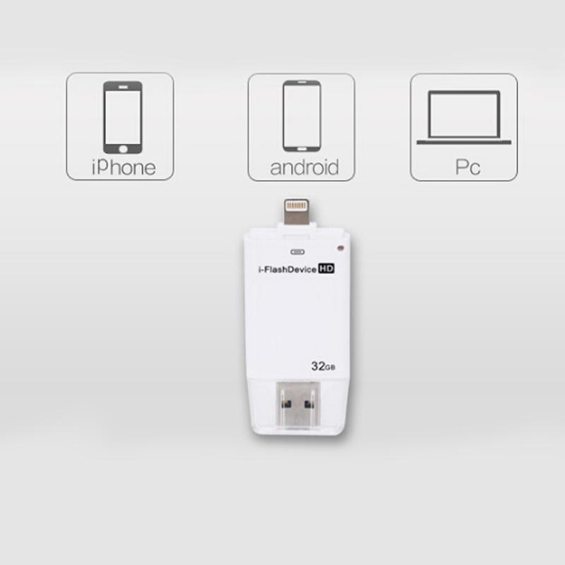 Mini Usb Metal Pen Drive Otg Usb Source · 128GB 128GB i Flashdrive .