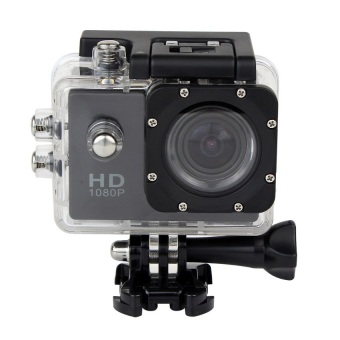 12MP 1080p Wi-Fi Sports Camera (Black)