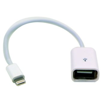15cm 8pin Male to USB Female OTG Adapter Cable for iPhone5/5s/5c/iPad 4 Mini Air