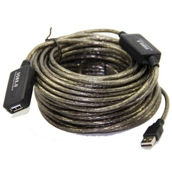 15m USB 2.0 Extension Repeater Cable with Booster