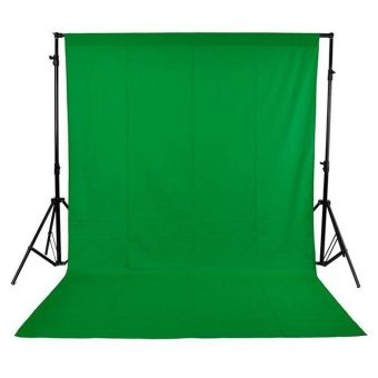 1.6 x 3M / 5 x 10FT Photography Studio Non-woven Backdrop Background Screen Green ^ - intl