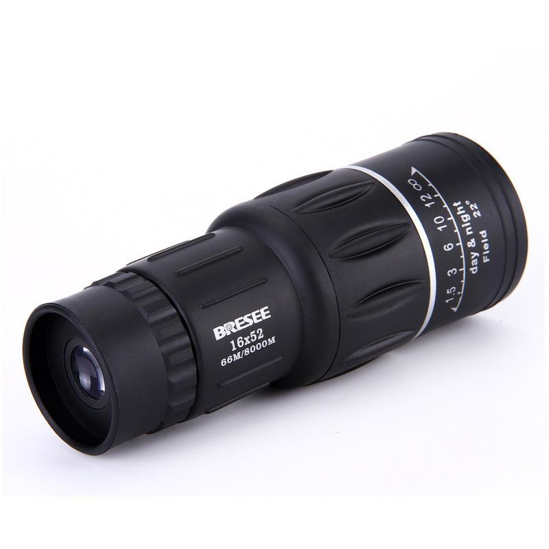 16x52 Dual Focus Zoom Optic Lens Day Night Vision Armoring TravelMonocular Telescope Tourism Scope Binoculars - intl