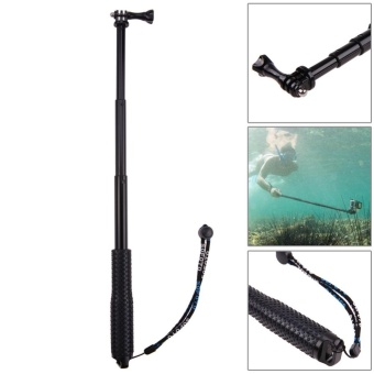 19 Inch Extendable Monopod Pole for Gopro Hero 5 4 XiaoYi SJCAMSJ4000 Tele(Black) - intl - 2