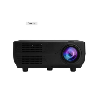 1920*1080P Mini Projector 150ANSI LM Portable Project With Speaker Home Theater UK Plug - intl - 4
