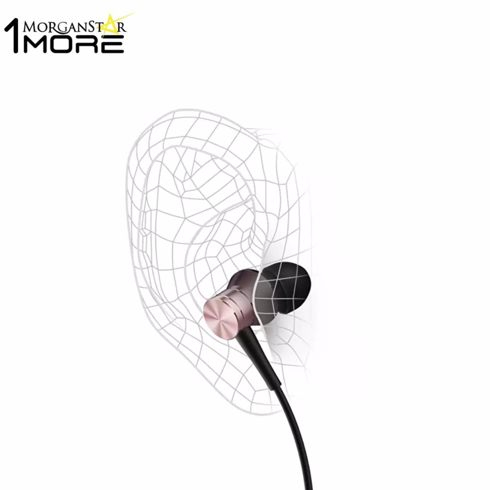 Philippines 1more E1009 Piston Fit In Ear Earphone Earbud Headset With Microphone Pink