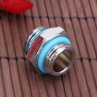 1pc G1/4 Dual External Thread Tube Connector for PC Water CoolingSystem - intl - 3