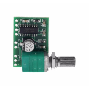 2-Channel Audio Amplifier with Volume Control PAM8403 - 2