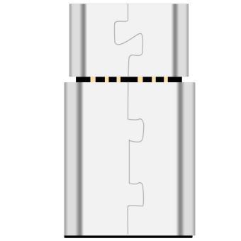 2 Pcs DM USB-C to Micro USB Adapter, Converts USB Type-C input toMicro USB, OTG Compatible,Works with MacBook, ChromeBook Pixel,Nexus 5X, Nexus 6P, Nokia N1, OnePlus 2 and More - intl - 4