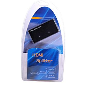 2-Port Mini Protable HDMI Spliltter (Black)
