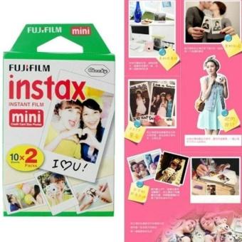 20 Sheets Photo Instax Instant Film Paper Set For Fuji Mini 7 7s 8 25 50 70 90 - intl - 4