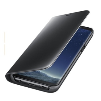 2017 New Clear View Mirror Leather Flip Stand Case Cover for iPhone 7 - intl - 3