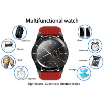 2017 NEW No.1 G8 Smartwatchs Bluetooth 4.0 SIM Card Call MessageReminder Heart Rate Monitor Smart watchs For Android Apple - intl - 5