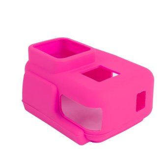 2017 New Silicone Rubber Case GoPro Hero 5 Soft Black ProtectionFrame If Action GoPro Camera Accessories Box Go Hero 5 Pink - intl
