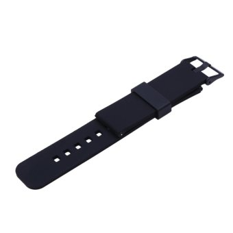 22mm Sports Silicone Watch Strap for Samsung Galaxy Gear S3 Classic(Black) - intl - 4