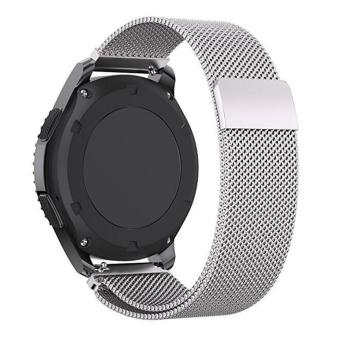 ... 22mm Stainless Steel Band +Stainless Steel Magnet Milanese loopWoven Watch Band Mesh Strap Wristbands for ...