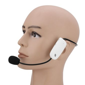 2.4G Wireless Microphone Megaphone Headset Radio Mic For SpeechTeaching Tour Guide - intl