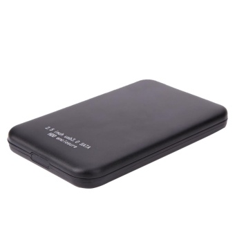 2.5 Inch Aluminium USB3.0 to SATA External HDD HD Hard Disk DriveEnclosure - intl