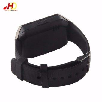 2PCS DZ09 Smart Watch Quad Phone Bluetooth Touch Screen (Grey) - 5