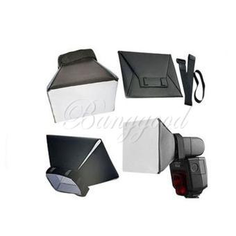 2Pcs Flash Diffuser Studio Pop-up Universal Soft Box For CanonNikon Sigma Off-Camera - Intl - 2