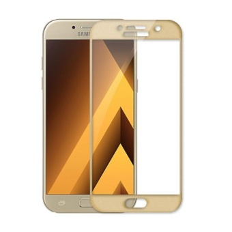 2pcs Full Cover Tempered Glass for Samsung Galaxy A7 (2017),Premium 3D Curved