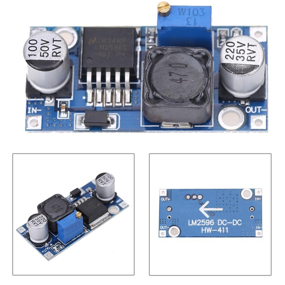 Philippines 2x Dc 3a Buck Converter Adjustable Step Down Power 01v To 50v Variable Supply Modulelm2596s Intl