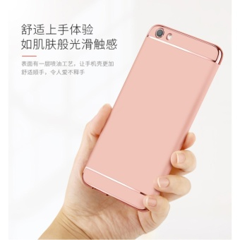 3 In 1 Fashion Ultra Thin Matte Hard Case for For OPPO F1S(rose gold) - intl - 4