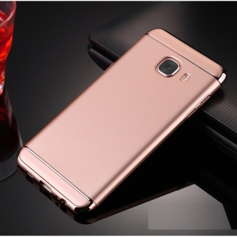 3 In 1 Fashion Ultra Thin Matte Hard Case for For Samsung Galaxy A52016(rose gold) - intl - 2