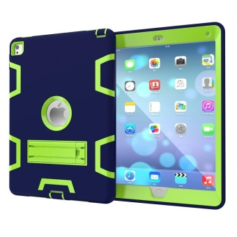3 In 1 Hybrid Armor Shockproof Full Body Protective Kickstand Case for iPad Pro 9.7 Inch 2016 Release Tablet - intl - 2