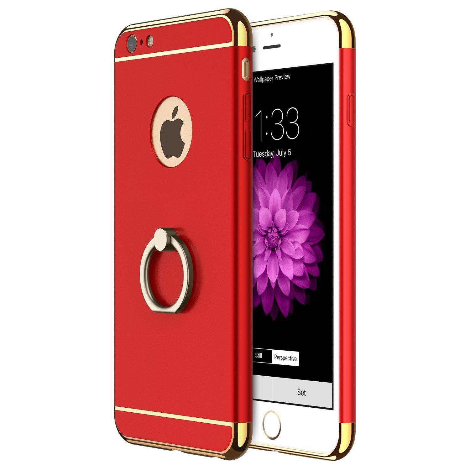 3 in 1 Ultra Thin Anti-Drop Scratch Resistant ShockproofElectroplate Frame Case .